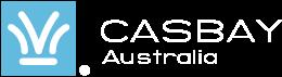 Casbay Australia Logo White